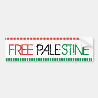 Palestine Free Bumper Sticker