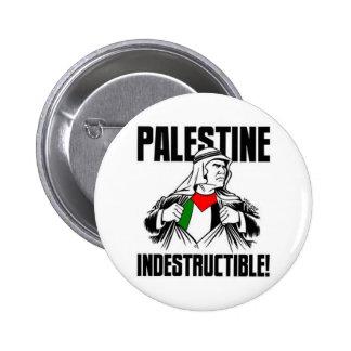 Palestine_Indestructible_by_Latuff2 2 Inch Round Button