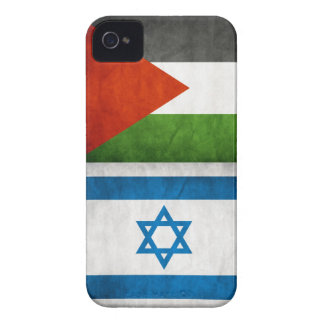 PALESTINE & ISRAEL PEACE FLAG iPhone 4 Case-Mate CASE