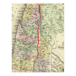 Palestine, Jerusalem 2 Postcard