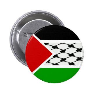 Palestine Keffiyeh Flag 2 Inch Round Button
