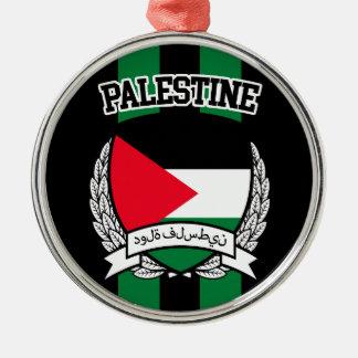 Palestine Metal Ornament
