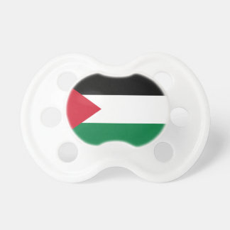 Palestine National World Flag Pacifier