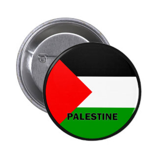 Palestine Roundel quality Flag 2 Inch Round Button