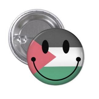 Palestine Smiley 1 Inch Round Button