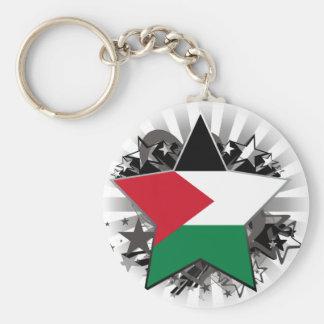 Palestine Star Keychain