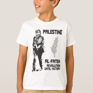 Palestine T Shirt - Fateh Poster