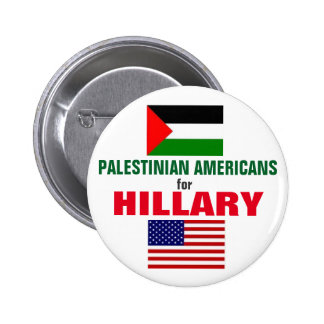 Palestinian Americans for Hillary 2016 2 Inch Round Button