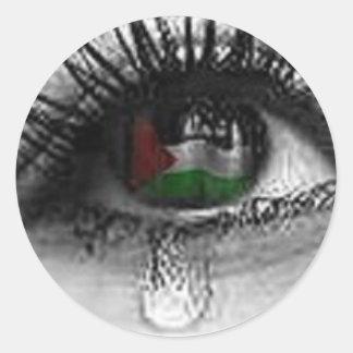 Palestinian Eye Classic Round Sticker