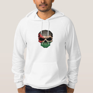 Palestinian Flag Skull Hoodie