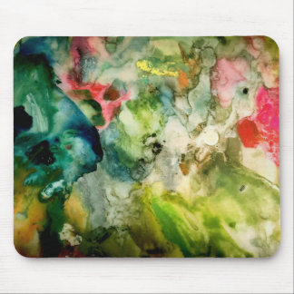 Palette Abstract Mouse Pad
