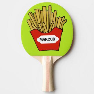 Palette faite sur commande de ping-pong de pommes raquette tennis de table
