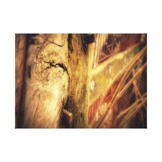 Paletto Caldo Canvas Print