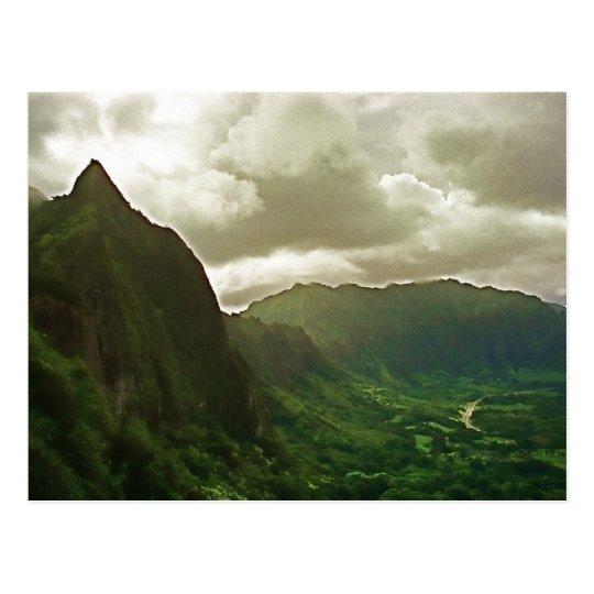 Pali Lookout Postcard