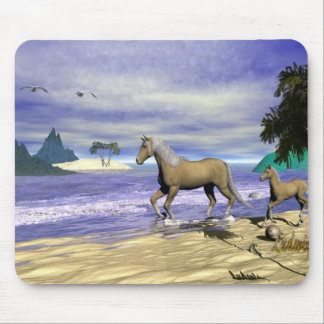 Palimino &and Foal Mouse Pad