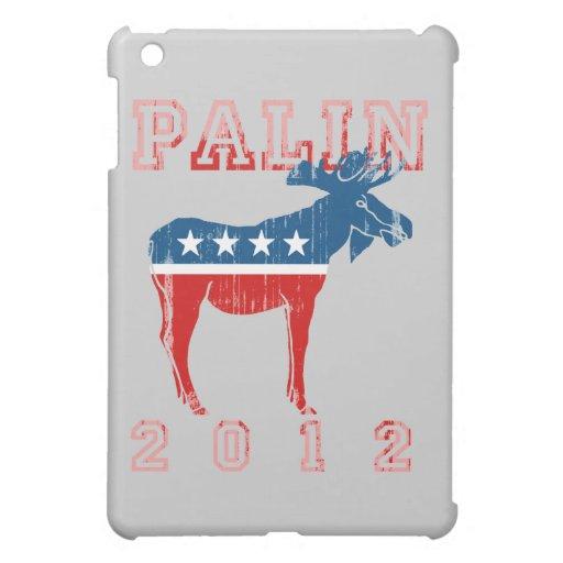 Palin 2012 (Moose) Faded.png iPad Mini Cases