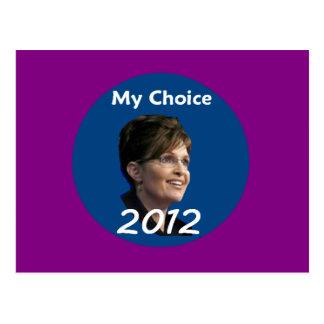Palin 2012 Postcard
