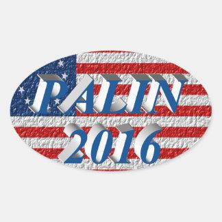 PALIN 2016 Sticker, Sea Blue 3D,Betsy Ross