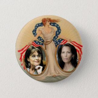Palin & Bachmann Liberty Button