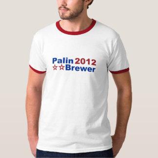 Palin/Brewer 2012 Ringer T T-Shirt