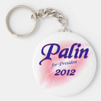Palin for Prez 2012 Keychain