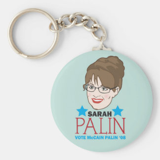 Palin Illustrated Keychain