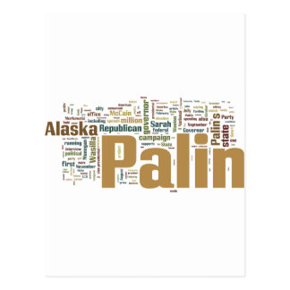 palin one postcard