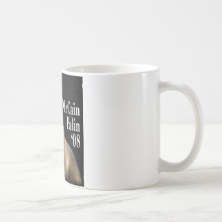 Palin Pitbull Coffe Cup Classic White Coffee Mug