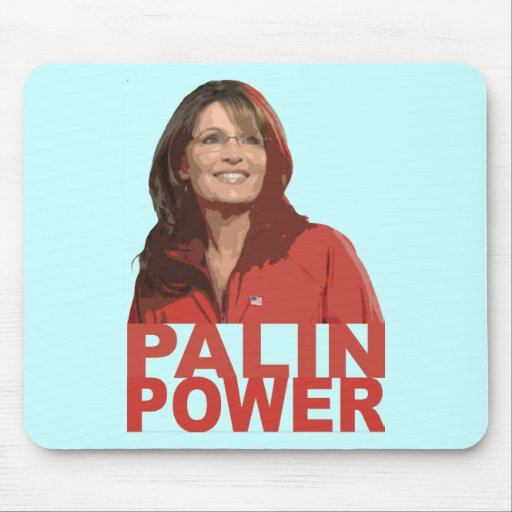 Palin Power Mouse Pads