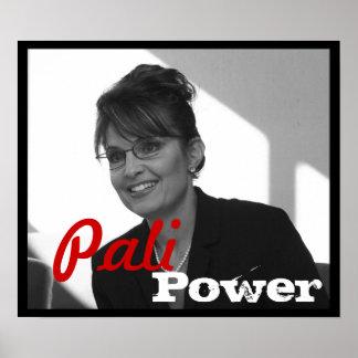 Palin Power Poster