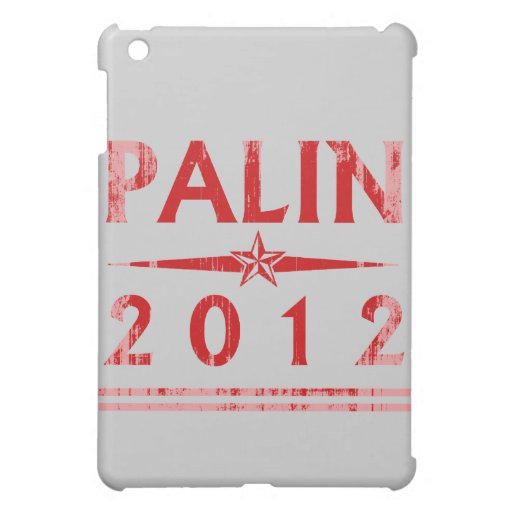PALIN STAR red Faded.png Cover For The iPad Mini