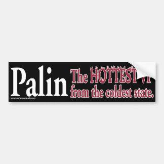 Palin-The Hottest VP Bumper Sticker