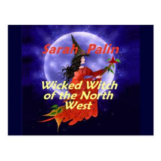 Palin WitchNW Postcard