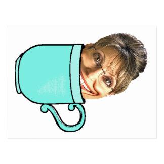Palin's tea party postcard