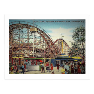 Palisades Amusement Park, Fort Lee, NJ Vintage Postcard