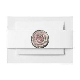 Pâlissez la camée rose - bande d'invitation - bandeau de faire-part