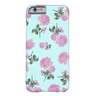 Pâlissez - roses roses - le motif de fleur sur le coque iPhone 6 barely there