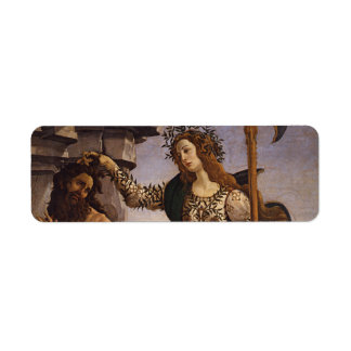 Pallas and the Centaur by Botticelli Return Address Labels