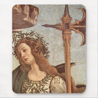 Pallas and the Centaur detail Mouse Pad