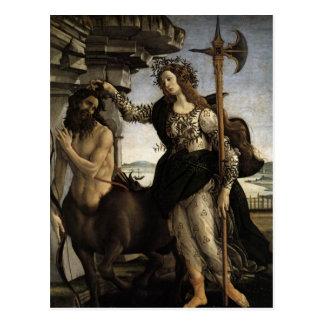 Pallas and the Centaur Postcard