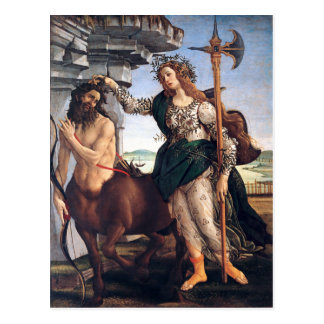 Pallas and the Centaur, Sandro Botticelli Postcard