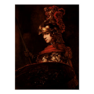 Pallas Athena or, Armoured Figure, 1664-65 Poster