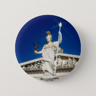 Pallas-Athene Fountain 2 Inch Round Button