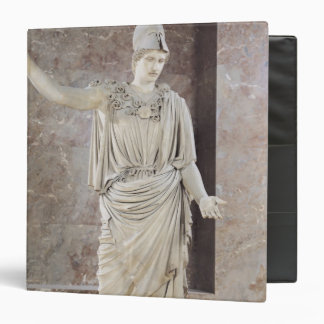 Pallas de Velletri, statue of helmeted Athena 3 Ring Binders