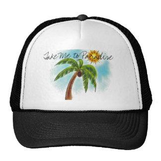 Palm%20Tree, Take Me to Paradise Trucker Hat