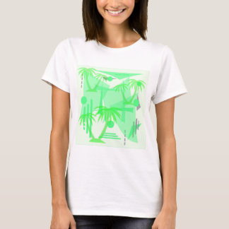 palm abstract illustration T-Shirt