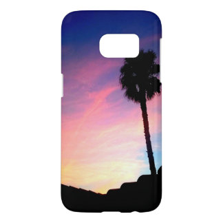 Palm at Sunset Samsung Galaxy S7 Case
