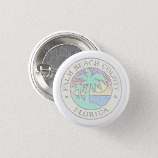 Palm Beach County 1 Inch Round Button