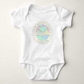 Palm Beach County Baby Bodysuit