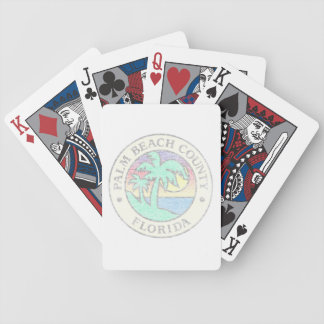 Palm Beach County Bicycle Playing Cards